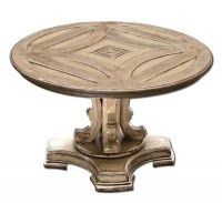 Round Pedestal Coffee Table | Coffee Table Design Ideas