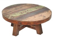 Round Rustic Coffee Table | Coffee Table Design Ideas