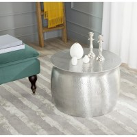 Round Silver Coffee Table | Coffee Table Design Ideas