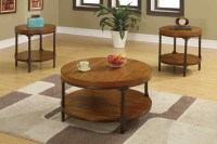 Round Wood Coffee Tables | Coffee Table Design Ideas