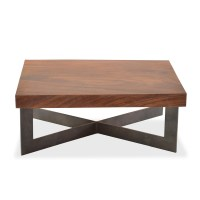 Solid Wood Slab Coffee Table | Coffee Table Design Ideas