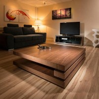 Square Low Coffee Table | Coffee Table Design Ideas
