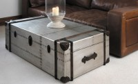 Steel Trunk Coffee Table | Coffee Table Design Ideas