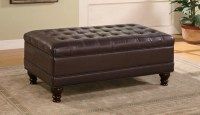 Tufted Leather Coffee Table | Coffee Table Design Ideas