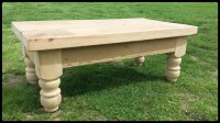 Unfinished Pine Coffee Table | Coffee Table Design Ideas