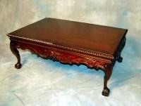 Vintage Mahogany Coffee Table | Coffee Table Design Ideas