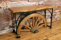 Wagon Wheel Coffee Table | Coffee Table Design Ideas