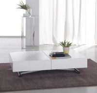 White Low Coffee Table | Coffee Table Design Ideas