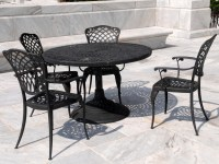 Wrought Iron Coffee Table Patio Furniture | Coffee Table ...