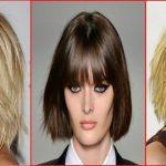 Coiffure Bob en couches avec une longueur de mâchoire épaisse »Meilleures coiffures faciles