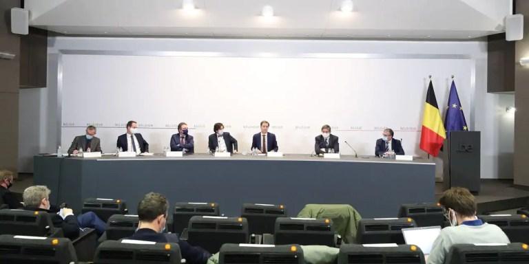 Comité de concertation: trois sujets principaux figurent au menu des discussions