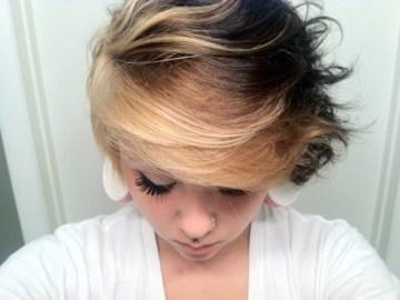 2014 coiffures courtes Emo pour les filles