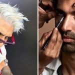 Célébrités masculines et tendances beauté en 2021