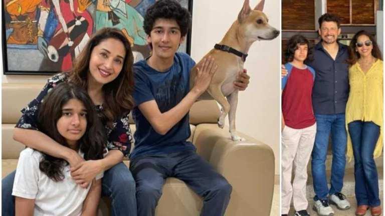 Madhuri Dixit souhaite à son fils Ryan pour ses 16 ans: `` Vous remplissez mon cœur de joie et de fierté '', ne manquez pas sa coiffure