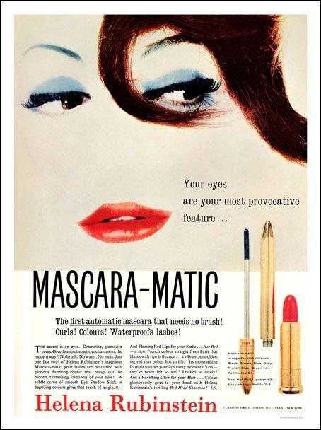 l'histoire du mascara