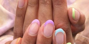 vernis à ongles sur ongles courts