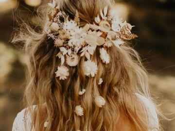 Mariage: ces coiffures de mariée bohèmes repérées sur Pinterest