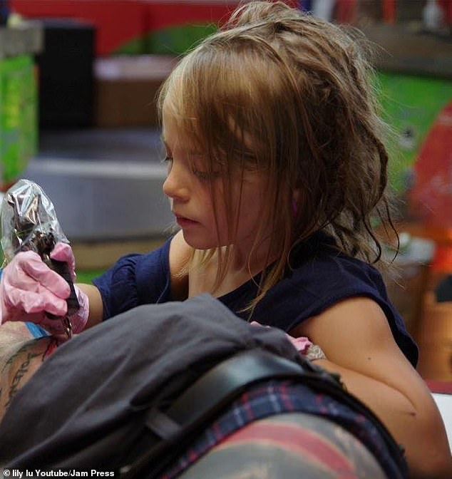 Youngest Tattooist In The World