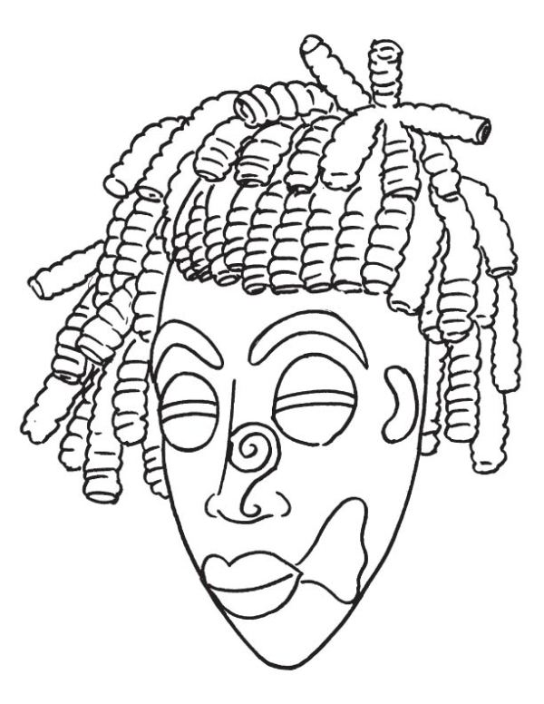 african coloring pages # 77
