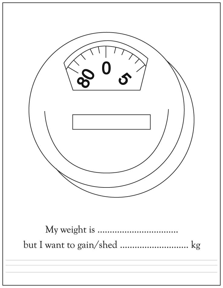 Weight Scale Coloring Pages, Printable Coloring Pages For