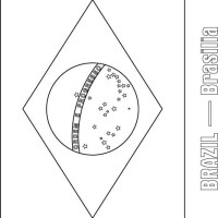 Brazil flag coloring page   Download Free Brazil flag ...