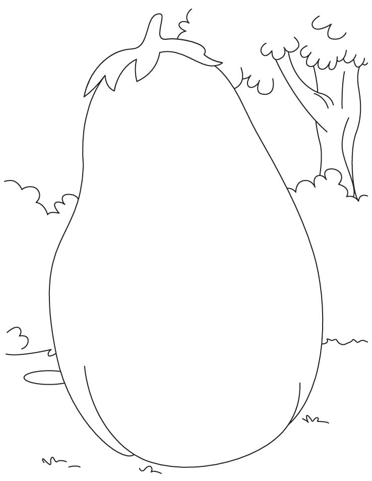 Beetroot Coloring Page