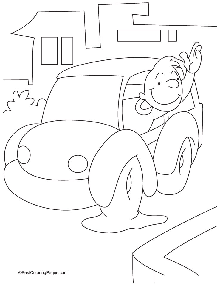 Goodbye Coloring Pages Coloring Pages