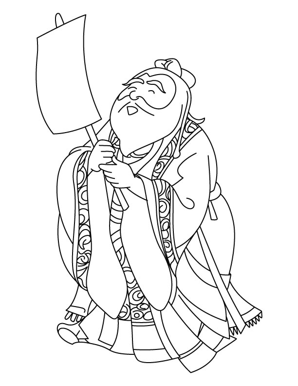 Monk Coloring Download Monk Coloring