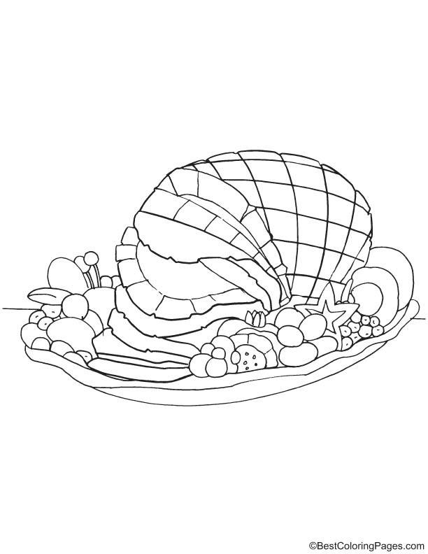 Celery Coloring Page