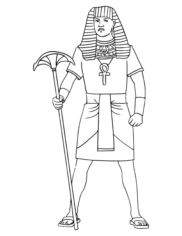 Anubis Coloring Pages Coloring Pages