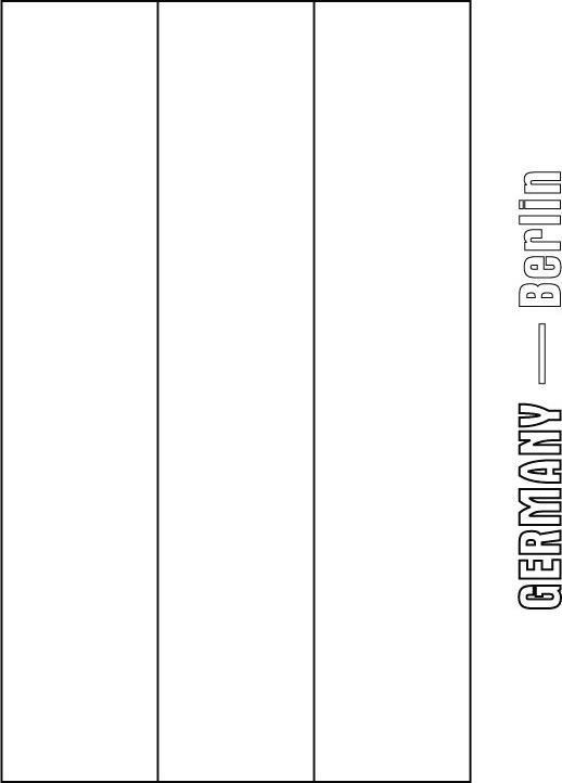 German Flag Coloring Page : german, coloring, Germany, Coloring, Download, Pages