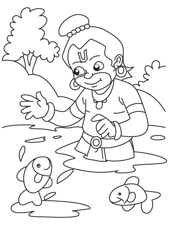 Lord Ganesha Coloring Pages