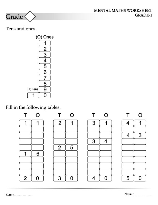 Printable Worksheets » Abacus Worksheets For Kids