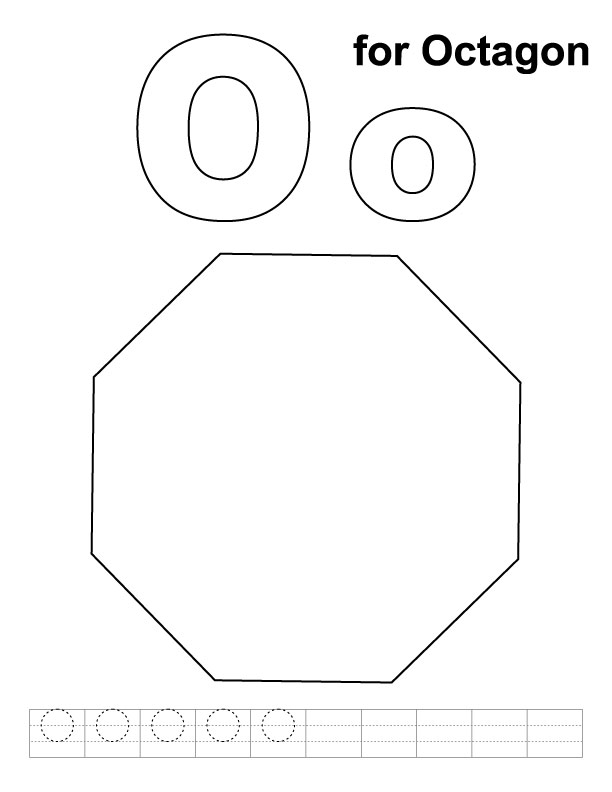 Octagon Printable Coloring Pages