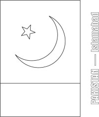 Pakistan Coloring Pages Pakistan Printable Coloring Pages