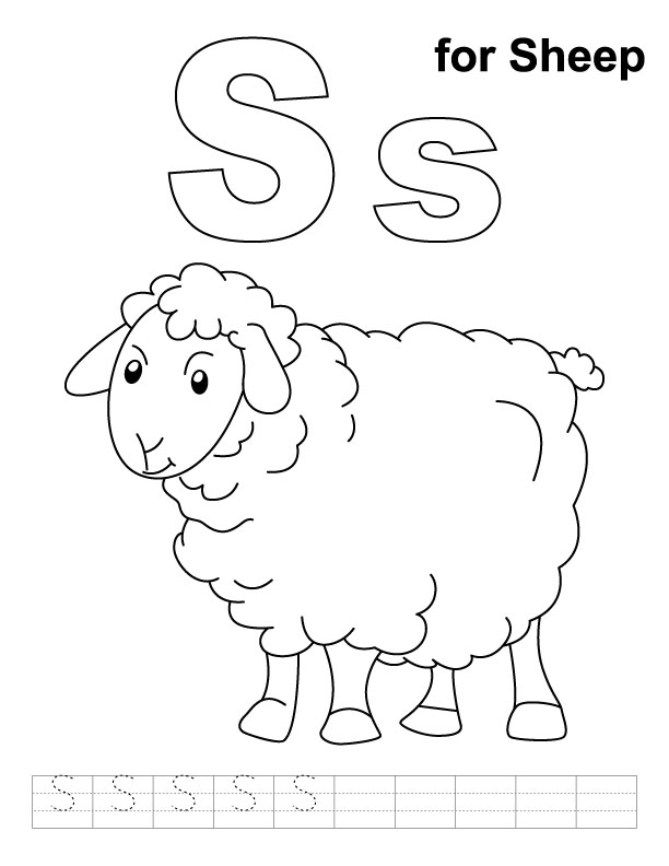 Sheep Coloring