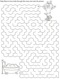 Commonwealth Games Mazes Worksheet | Download Free ...