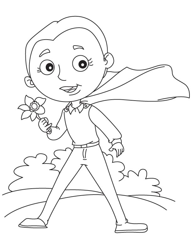 Flower Bulb Coloring Pages