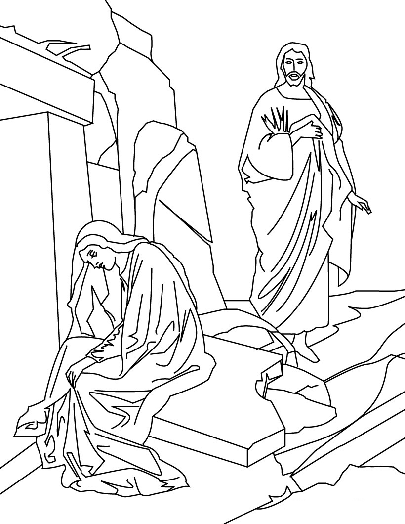 Miracles Of Jesus Coloring Pages : miracles, jesus, coloring, pages, Printable, Jesus, Coloring, Pages