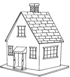 Free Printable House Coloring Pages For Kids