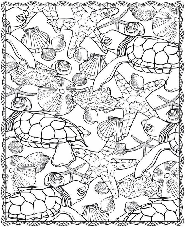 Free Printable Ocean Coloring Pages For Adults : printable, ocean, coloring, pages, adults, Printable, Ocean, Coloring, Pages