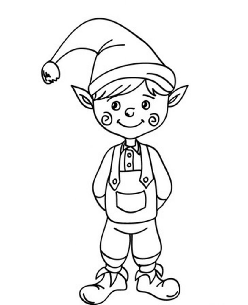 """Search Results for """"Elf Colouring Pages"""""""