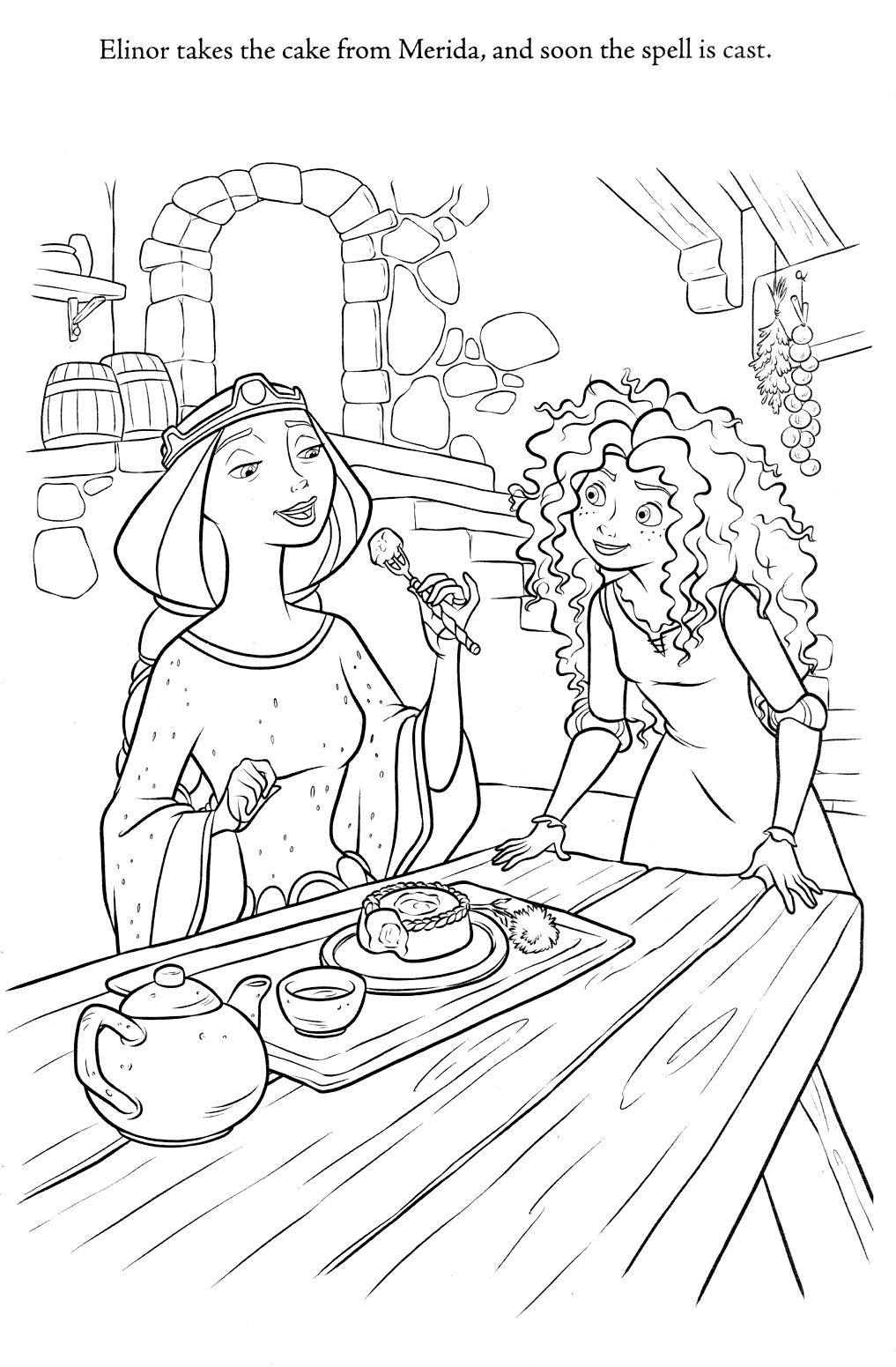 Princess Merida - COLORING PAGES