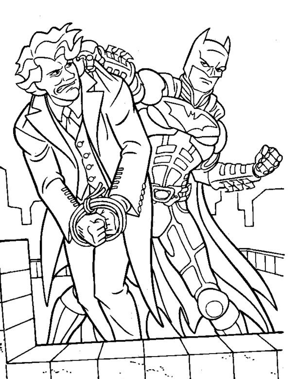 Joker Coloring Pages : joker, coloring, pages, Joker, Coloring, Pages