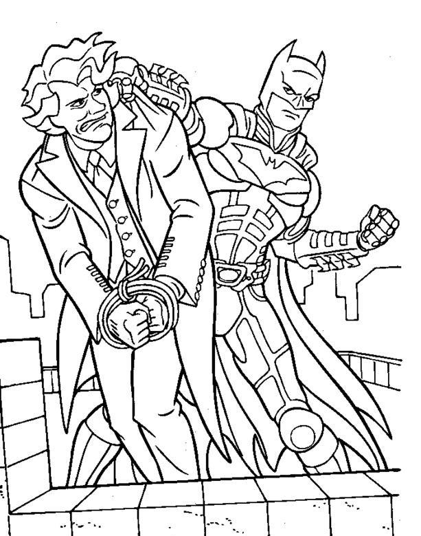 Batman And Joker Coloring Pages : batman, joker, coloring, pages, Joker, Coloring, Pages