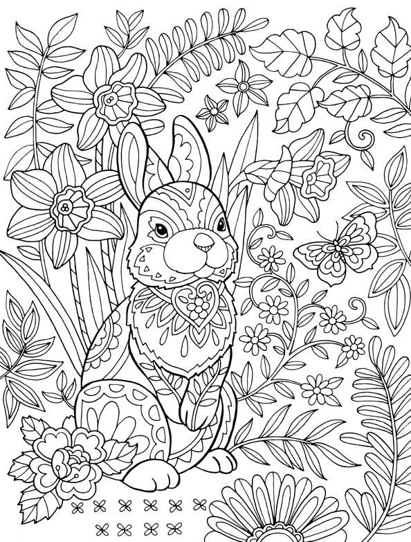 25 Free Printable Easter Coloring Pages — Easter Coloring