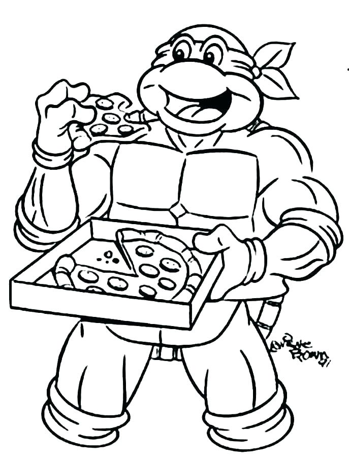 Printable Tmnt Coloring Pages : printable, coloring, pages, Teenage, Mutant, Ninja, Turtles, Coloring, Pages