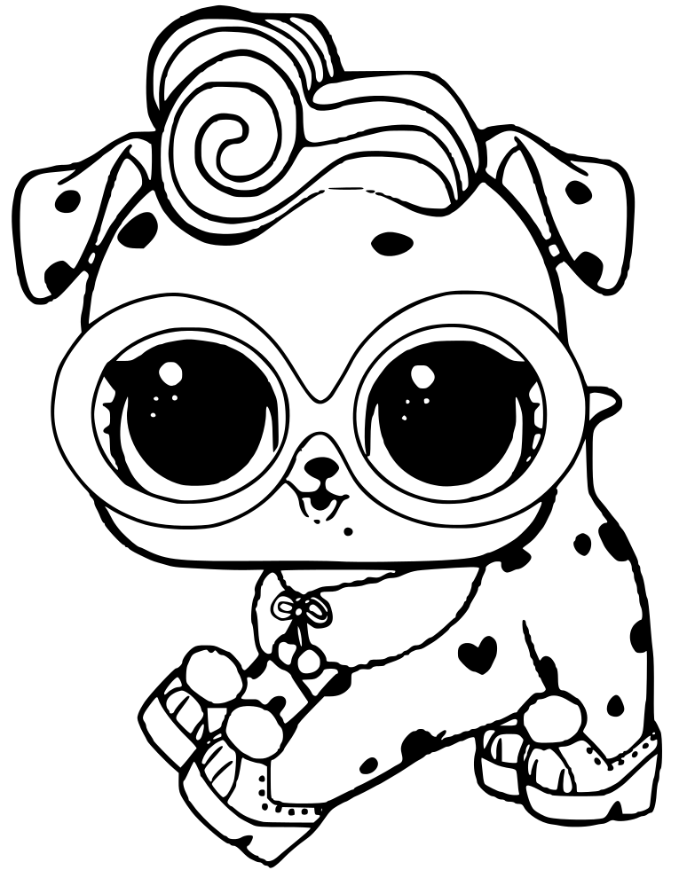 Lol Dog Coloring Pages : coloring, pages, Dolls, Coloring, Pages