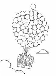 coloring pages balloon disney printable balloons colouring print pixar children drawing sheets adult books space easy alphabet quarantine justcolor spring