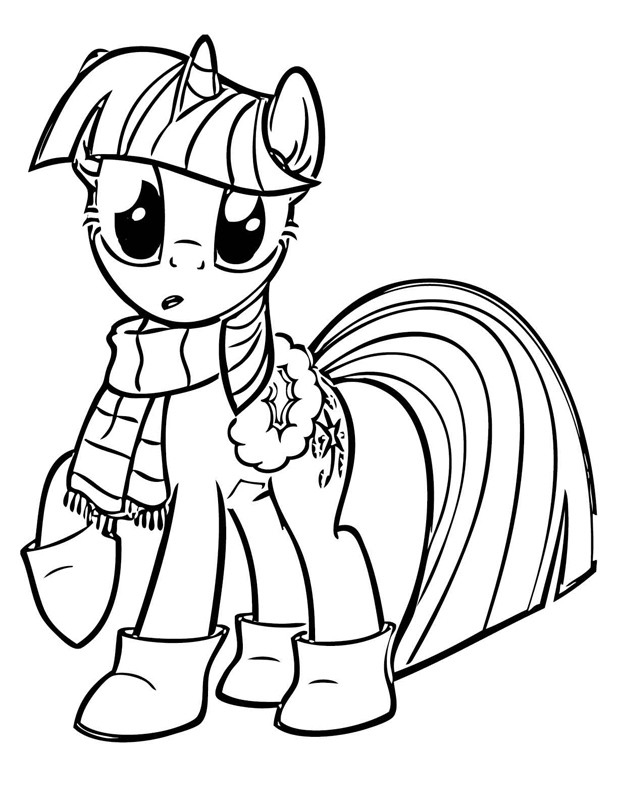 Twilight Sparkle Coloring Pages : twilight, sparkle, coloring, pages, Twilight, Sparkle, Coloring, Pages
